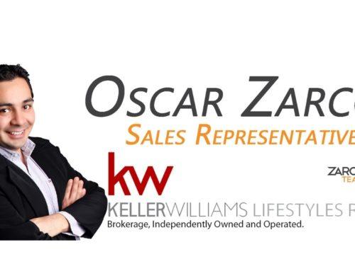 Oscar Zarco – Agente de Bienes Raíces